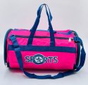 Round Rexine Gym Model Duffel Bag - SNT-505