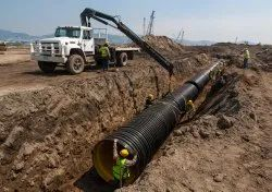 HDPE Pipes Installation