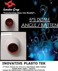 INOVATIVE Plastic 5x5 Angle Holder Dome, For Electrical Fitting