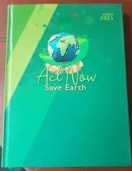 Go Green Theme Diary