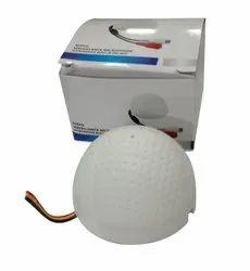 Wireless White CCTV Ball Mic