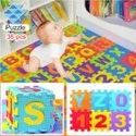 36 Pcs Alphanumberic Eva Puzzle (6.5 Inch)