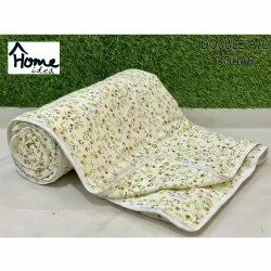 Off White Double Bed AC Dohar Blanket