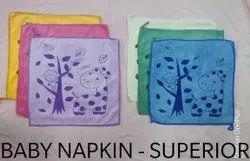 Micro Fiber Printed Baby Napkin