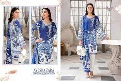 Pakistani Printed Cotton Embroidered Salwar Kameez