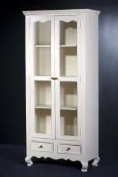 Wooden White Shelf Cabinet, For Residentials,office and hotels