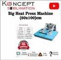 Big Flat Heat Press Machine 60x100 cm