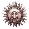 Sun God/Surya Metal Wall Hanging