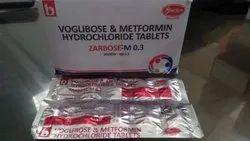 Voglibose & Metformin Hydrochloride Tablet
