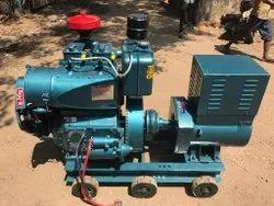 Bajaj M Air Cooled Diesel Generator 15 kva, Single and 3 phase