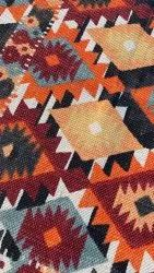 For Home Handwoven Printed Carpet