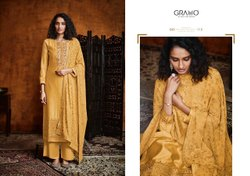 Casual Wear Multicolor Embroidered Designer Silk Palazzo Salwar Suit
