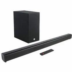 Black JBL Cinema SB160 Soundbar With Wireless Subwoofer, 220 Watts