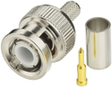 BNC Male Plug Coax Connector Compatible with RG316, RG174 Cable