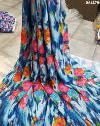 Stunning 6MM Checks Silk Digital Print Fabric
