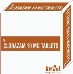 Clobazam 10 Mg Tablets