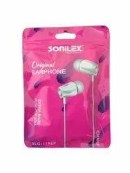 White Sonilex SLG119EP Wired Earphones