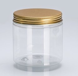 200 gram Tublor Jar With 63mm Gold Metal Cap