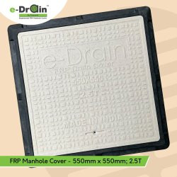 550mm X 550mm FRP Square Manhole Cover