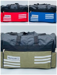 3x3 Rexine 8NO Zip Good Quality Travel Bag Small Size - SNT-506