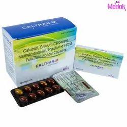Calcitriol Calcium Carbonate Methylcobalamin Pyridoxine HCL and Folic Acid Softgel Capsules