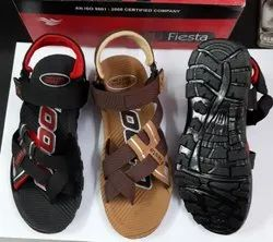 Daily wear Gents Pu Sandals, Size: 6-10
