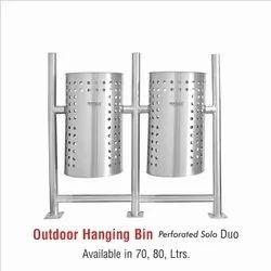 Outdoor Stainless Steel Dustbin