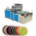 Single Die Buffer Thali Making Hydraulic Machine