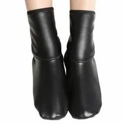 Women Zip Closer Ladies Leather Belly Shoes
