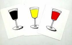 Magic World Pop Parade Comedy Card Magic / Comedy Glass Picture & Joker Magic