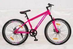 Super Light Steel Pink Upgrade Women Bicycle, Model Name/Number: Fluid 1.6 G, Size: 26