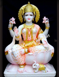 Marble Idols Lakshmi Statue