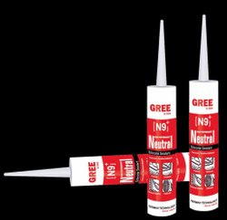Gree N9 Plus Black Neutral Cure Silicone Sealant