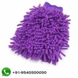 Microfiber Chenille Hand Glove Mitt