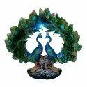 Resin Peacock Shape Flower Vase / Pot