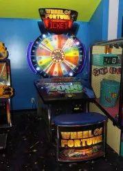 Golden Spin the Wheel Arcade Game Machine