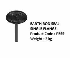 Earth Rod Seal Single Flange