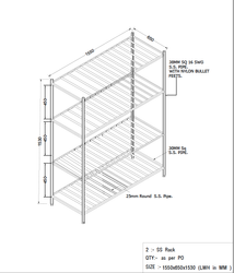 Stational Steel Rack