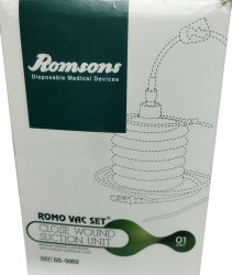 Romsons Romo Vac Wound Closure Suction Set
