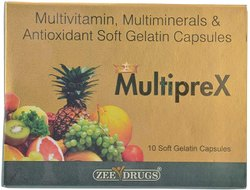 Multiprex ( Multivitamin Multiminerals & Antioxidant Cap)