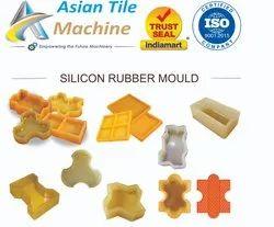 Rubber Paver Block Making Mould