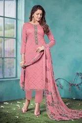 Pure Jam Cotton Fancy Salwar Suit