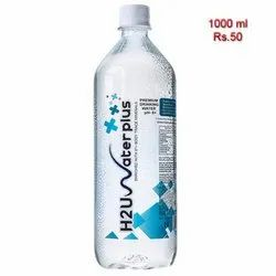 8+ Transparent H2U Water 1000Ml, For Impure Immunity & Ph, Packaging Type: Bottles