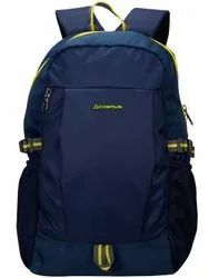 Polyester Fabric. Blue Cosmus ACE Casual Navy 45 cm 22 Ltr Laptop Backpack Bag