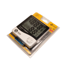 HSETIN Temperature & Humidty Meter with Clock, Lab Grade