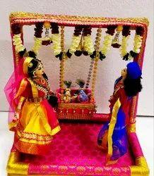 Cradle Ceremony- Balram And Krishana Golu Doll