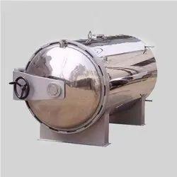 Mild Steel Servo Steam Sterilizer