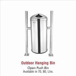 Hanging Open Push Bin