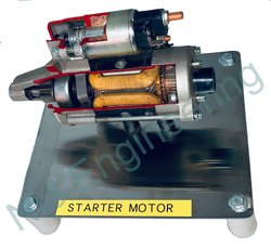 Cut Section Model Of Starter Motor