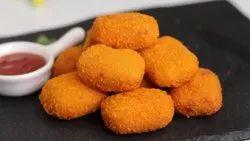 Golden Brown Frozen Chicken Nuggets